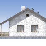 проект дома из теплоблока SDn-572 3