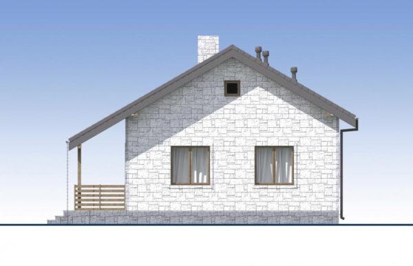 проект дома из теплоблока SDn 572 3