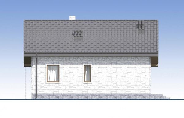 проект дома из теплоблока SDn 572 4