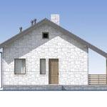 проект дома из теплоблока SDn-572 5