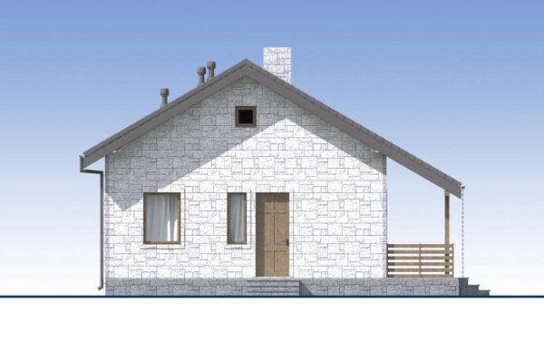 проект дома из теплоблока SDn 572 5