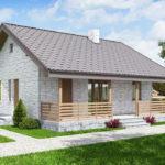 проект дома из теплоблока SDn-572 6