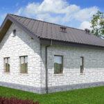 проект дома из теплоблока SDn-572 8