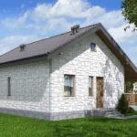 проект дома из теплоблока SDn-572 9
