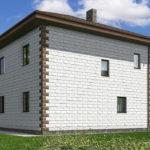 проект дома из теплоблока SDn-592 10