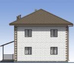 проект дома из теплоблока SDn-592 4