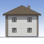 проект дома из теплоблока SDn-592 5