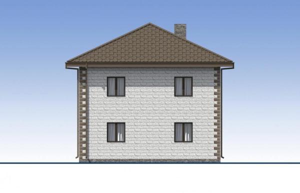 проект дома из теплоблока SDn 592 5