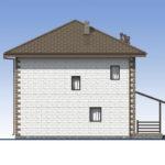 проект дома из теплоблока SDn-592 6