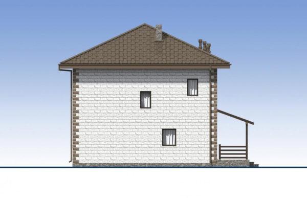 проект дома из теплоблока SDn 592 6