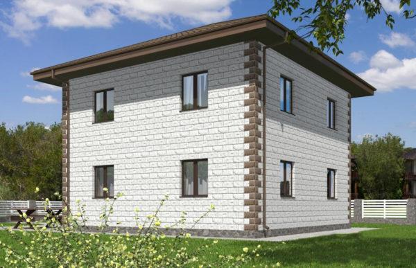 проект дома из теплоблока SDn 592 9