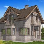 проект дома из теплоблока SDn-596 8