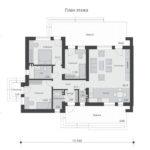 проект дома из теплоблока SDn-833 1