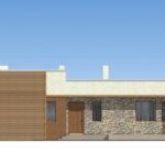проект дома из теплоблока SDn-833 2