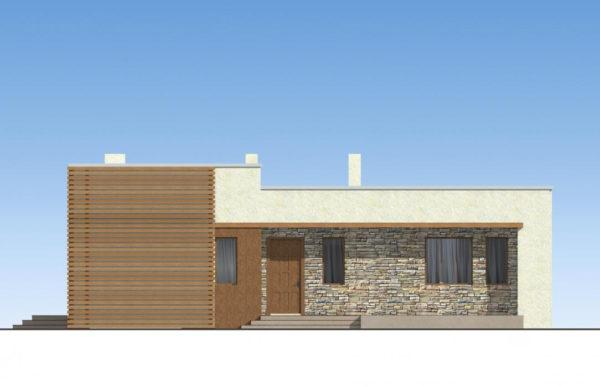 проект дома из теплоблока SDn 833 2