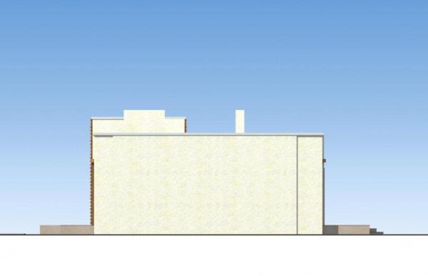 проект дома из теплоблока SDn 833 3