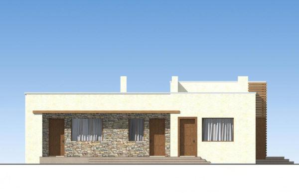 проект дома из теплоблока SDn 833 4