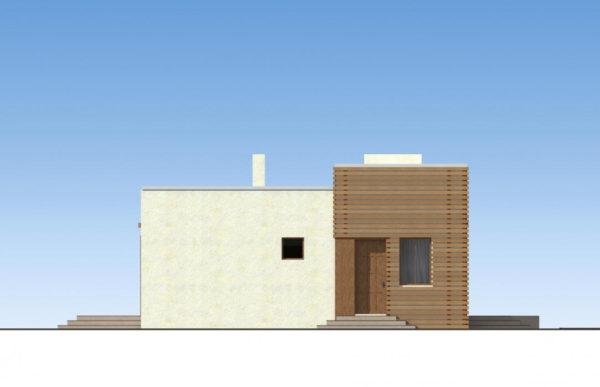 проект дома из теплоблока SDn 833 5
