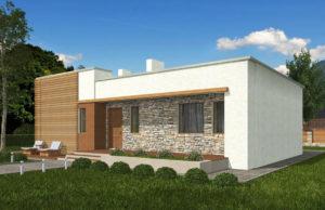 проект дома из теплоблока SDn 833 6