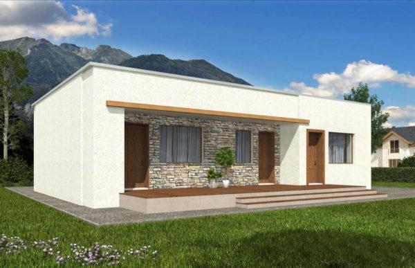 проект дома из теплоблока SDn 833 8