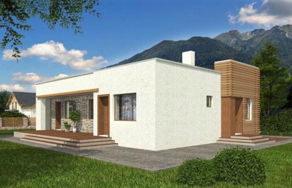 проект дома из теплоблока SDn 833 9