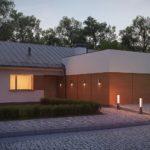 проект каркасно-монолитного дома SDn-296 1