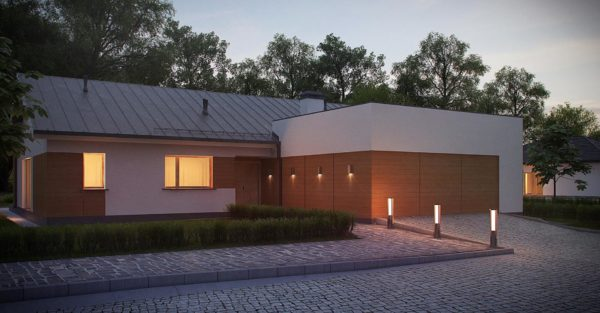 проект каркасно монолитного дома SDn 296 1
