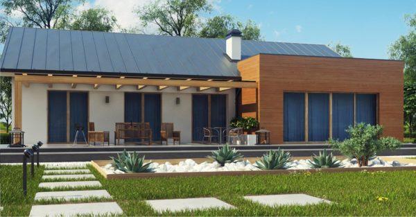 проект каркасно монолитного дома SDn 296 10