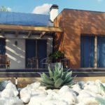 проект каркасно-монолитного дома SDn-296 11