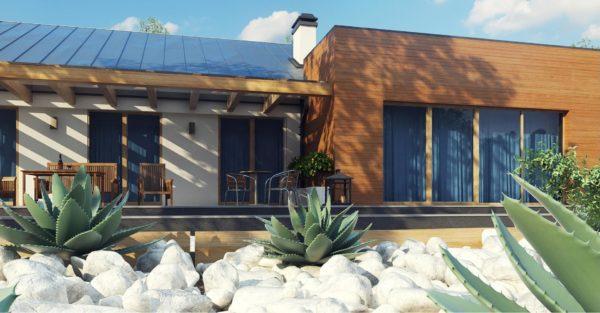 проект каркасно монолитного дома SDn 296 11