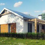 проект каркасно-монолитного дома SDn-296 12