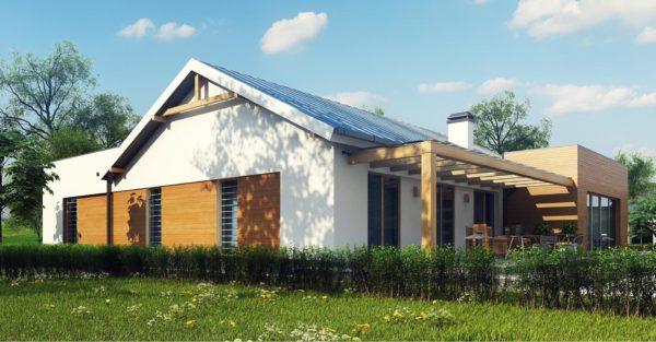 проект каркасно монолитного дома SDn 296 12