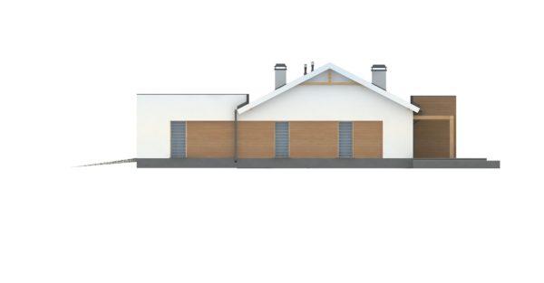 проект каркасно монолитного дома SDn 296 13