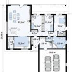 проект каркасно-монолитного дома SDn-296 14