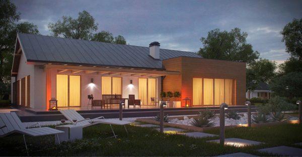 проект каркасно монолитного дома SDn 296 2