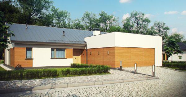проект каркасно монолитного дома SDn 296 5