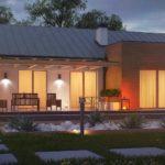 проект каркасно-монолитного дома SDn-296 6