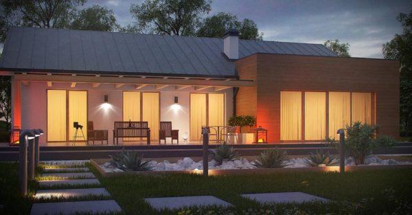 проект каркасно монолитного дома SDn 296 6