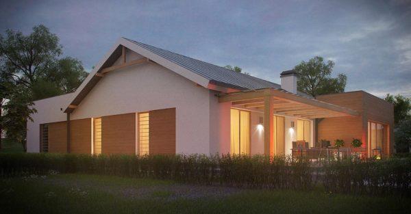 проект каркасно монолитного дома SDn 296 7