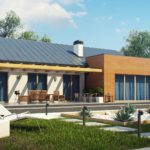 проект каркасно-монолитного дома SDn-296 8