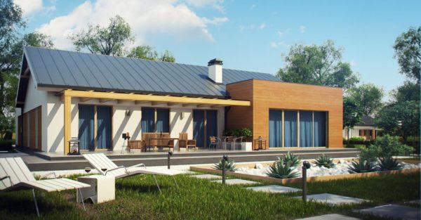 проект каркасно монолитного дома SDn 296 8