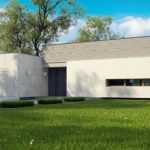 проект каркасно-монолитного дома SDn-413 1