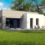 проект каркасно-монолитного дома SDn-413 2