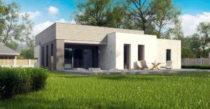 проект каркасно монолитного дома SDn 413 2