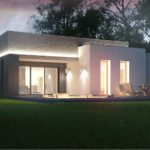проект каркасно-монолитного дома SDn-413 5