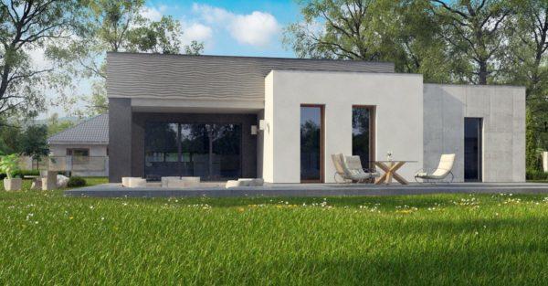 проект каркасно монолитного дома SDn 413 8