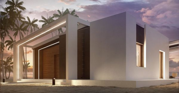 проект каркасно монолитного дома SDn 414 5