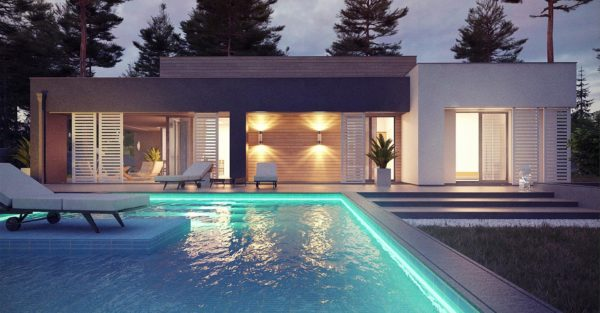 проект каркасно монолитного дома SDn 422 1