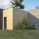проект каркасно-монолитного дома SDn-422 3