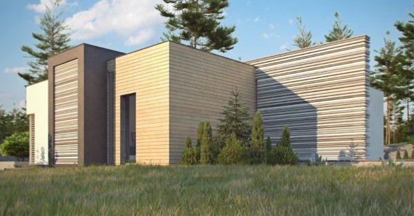 проект каркасно монолитного дома SDn 422 3